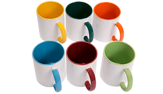 INNER & HANDLE COLOUR MUG (3 TONE)